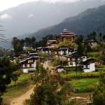 Gangtey Goenpa in Phobjikha